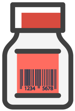Products with barcode