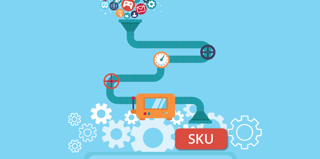 SKU generator illustration