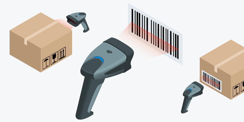 Barcodes illustration
